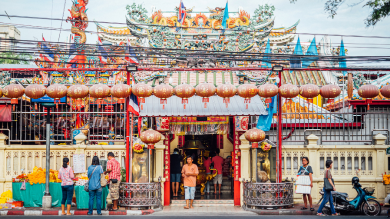 Shrine: A place of faith at the heart of Chinese-Thai community