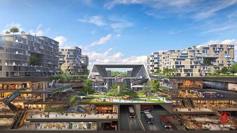"""ลดค่าแอร์ด้วย """"ระบบหล่อเย็นกลาง"""" แนวคิดใหม่ในเมืองรักษ์โลกแห่งแรกของสิงคโปร์"""