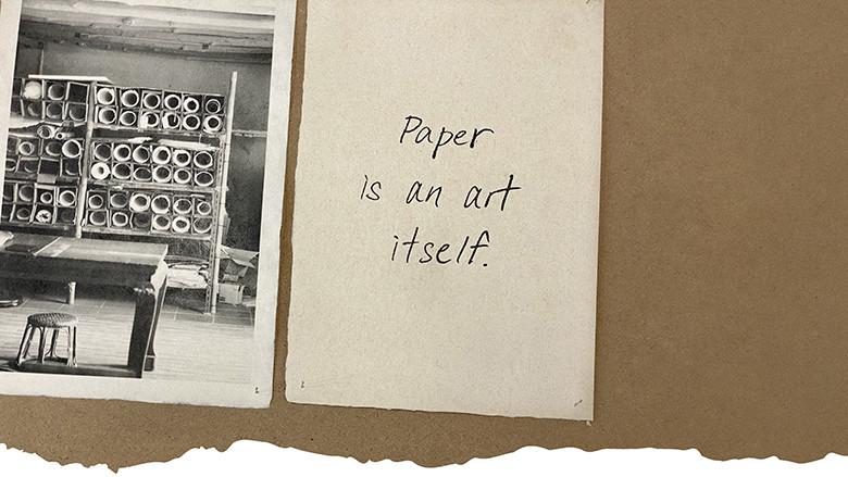 The Secret of Paper ความลับของกระดาษ