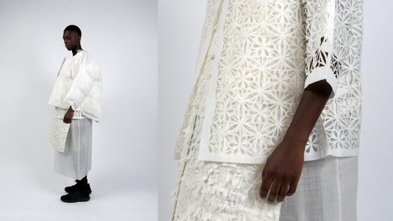 เสื้อผ้าจากกระดาษ คอลเล็กชันที่ตีความใหม่จากเทคนิคงานคราฟต์ดั้งเดิม